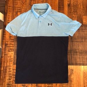Boy's Under Armor Polo Size L